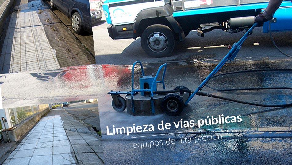 limpieza vías públicas