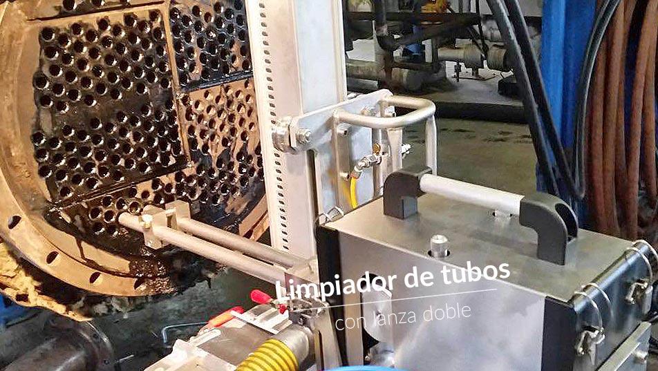 Limpiador tubos