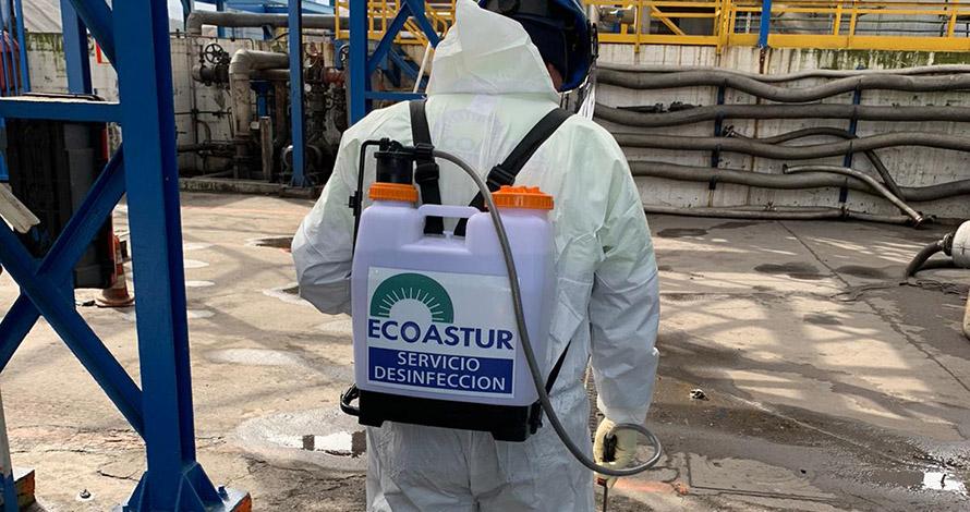 Desinfeccion manual COVID-19 - ECOASTUR limpiezas industriales